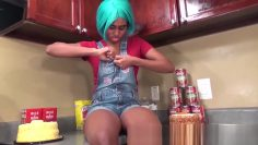 My Innocent Ebony Step Sister Msnovember Is About To Get Fucked In The Kitchen When Mom Is Gone And Her Big Tits Cumshot Facial From My Hard Cock Load HD Sheisnovember