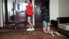 Two Asian Girls Humiliated
