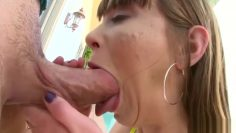 Gaping butthole gets fucked deep