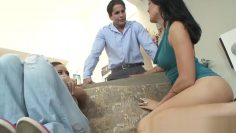 Couple banging a naughty teen