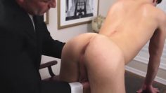 Boy submits to physical inspection and raw fuck