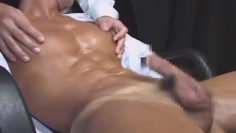 Japanese Muscle Office Man