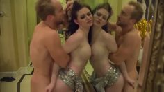 sexy rich bitch fucked after new year party