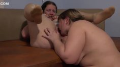 Deep fisting and pussy licking. Fat lesbian helped a mature girlfriend get a stormy orgasm.