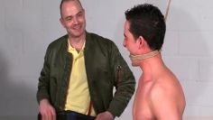 Tortured by skinhead