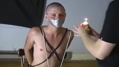 Master bought a slave for torture