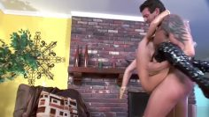 Blonde babe loves a big cock for anal with a surprise ending – FHUTA