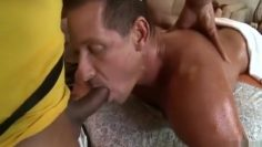Rock gets a massage and fuck