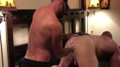 Tex fists a ginger studs hole