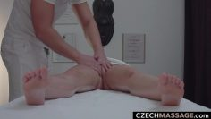 Busty Beauty Cheating her BF during Massage